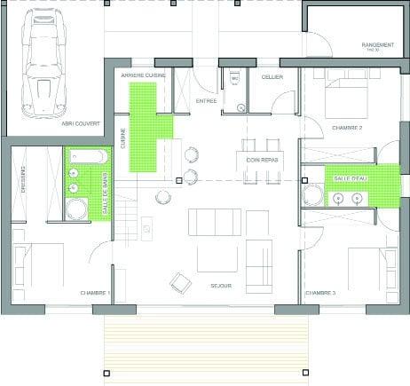 plan maison amsterdam