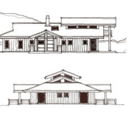 dessin maison ferret