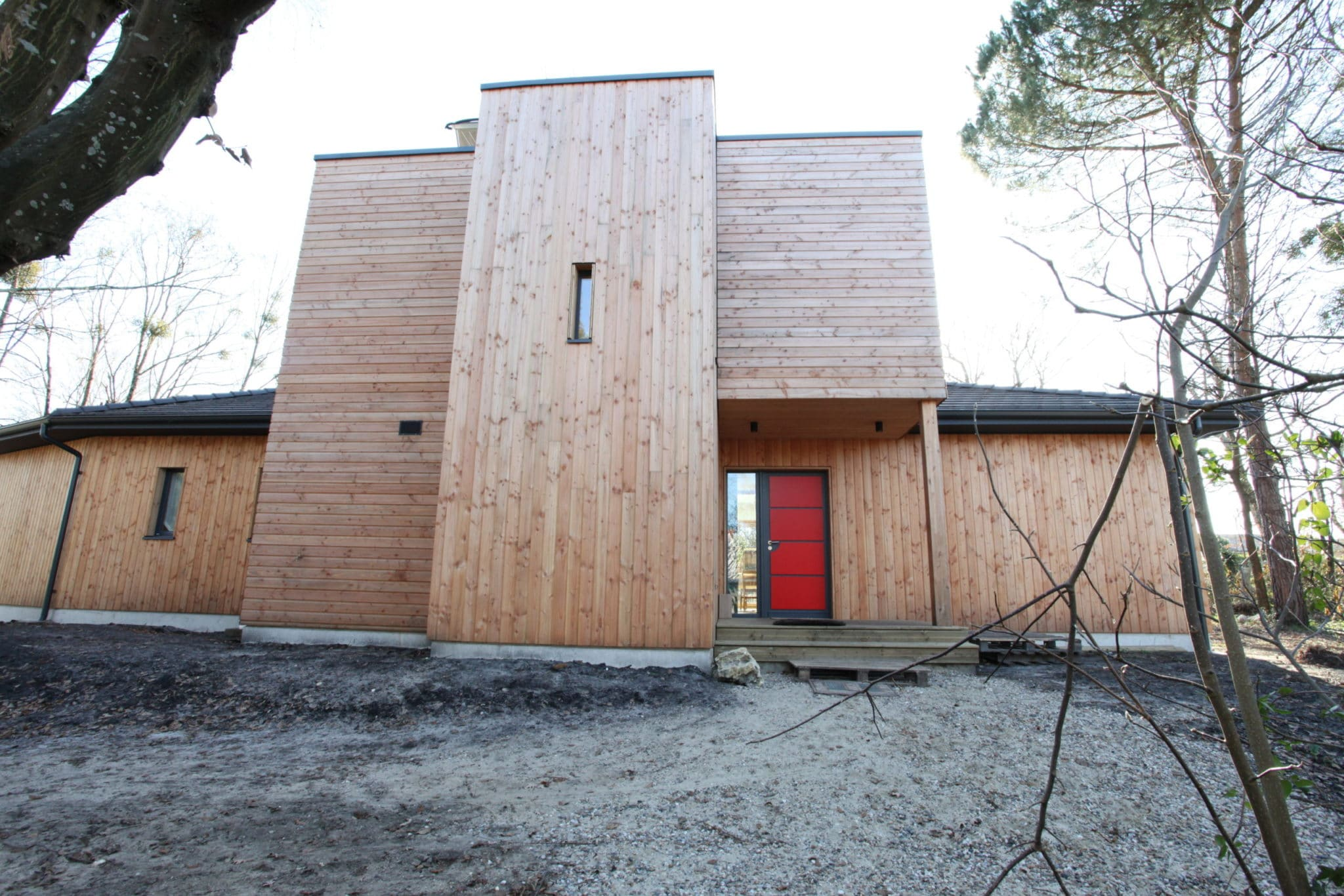 maison bois Gradignan