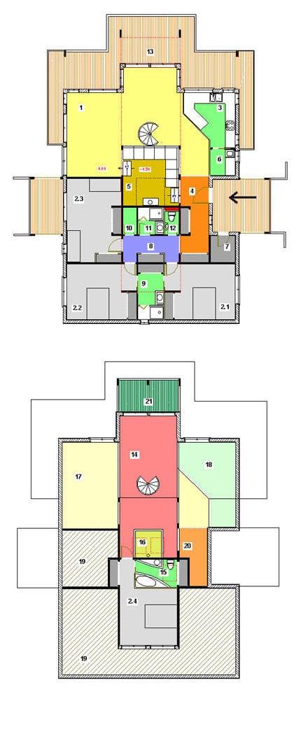 plan-la-ferret-maisons-cote-bois