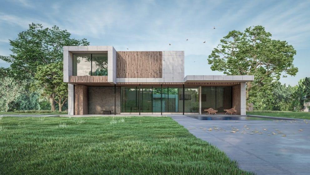 Maisons et villas en ossature bois prix