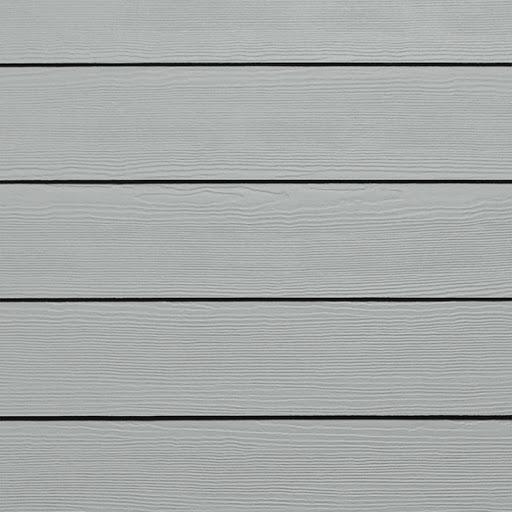 Bardage HardiePlank couleur gris
