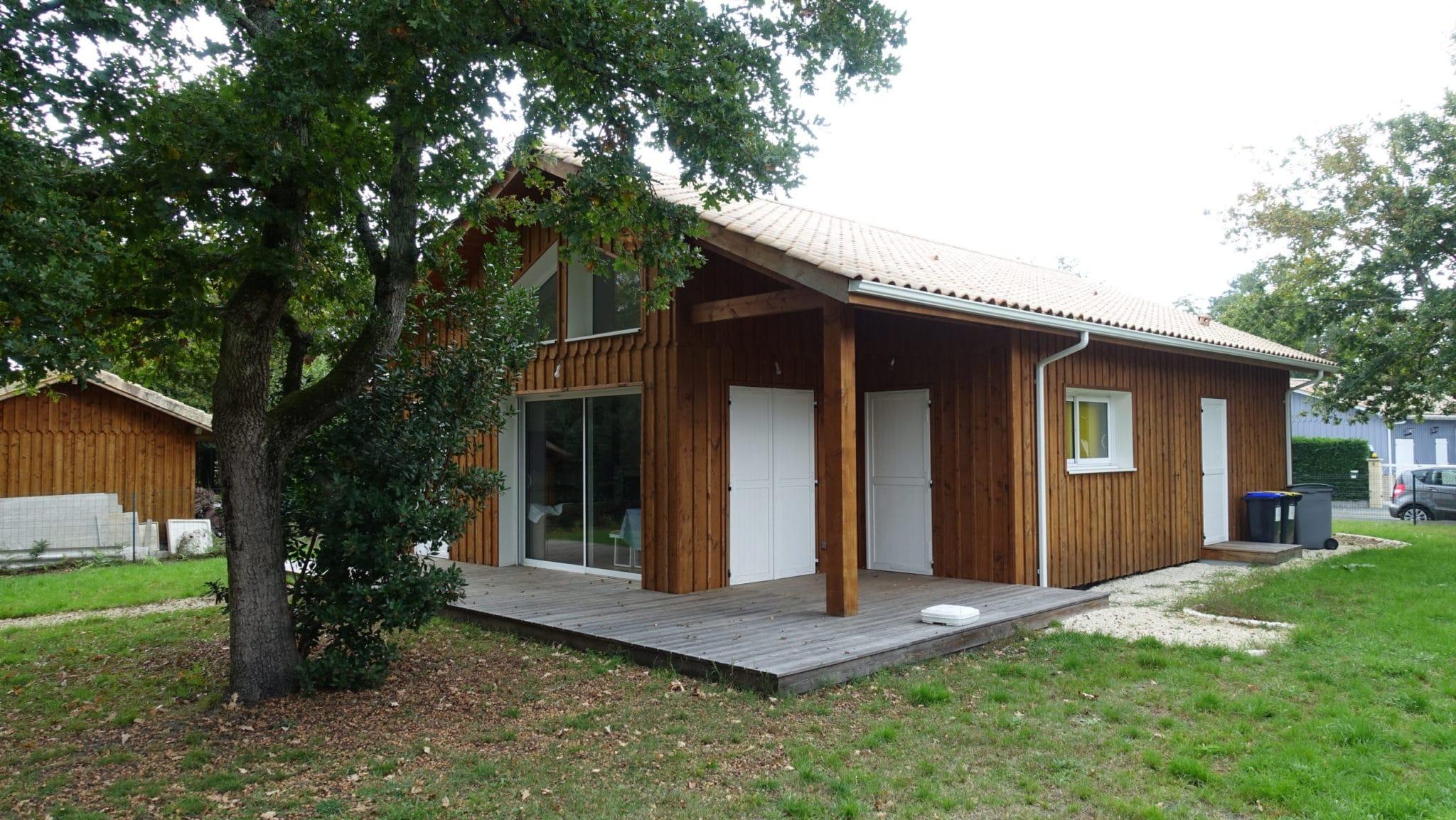 Maison ossature bois sur mesure lanton
