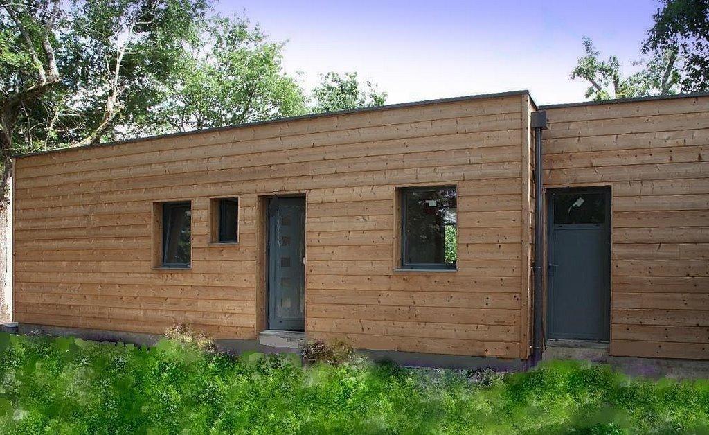 maison contemporaine bioclimatique