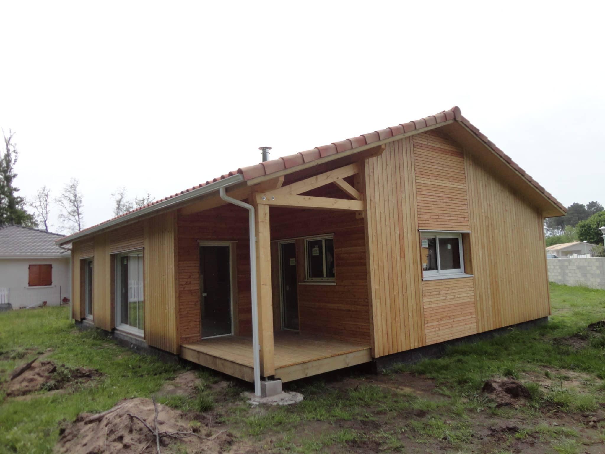 maison ossature bois biganos
