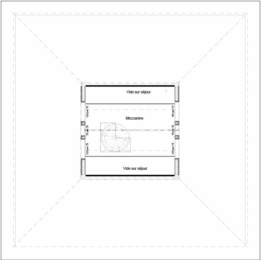 plan maison salles
