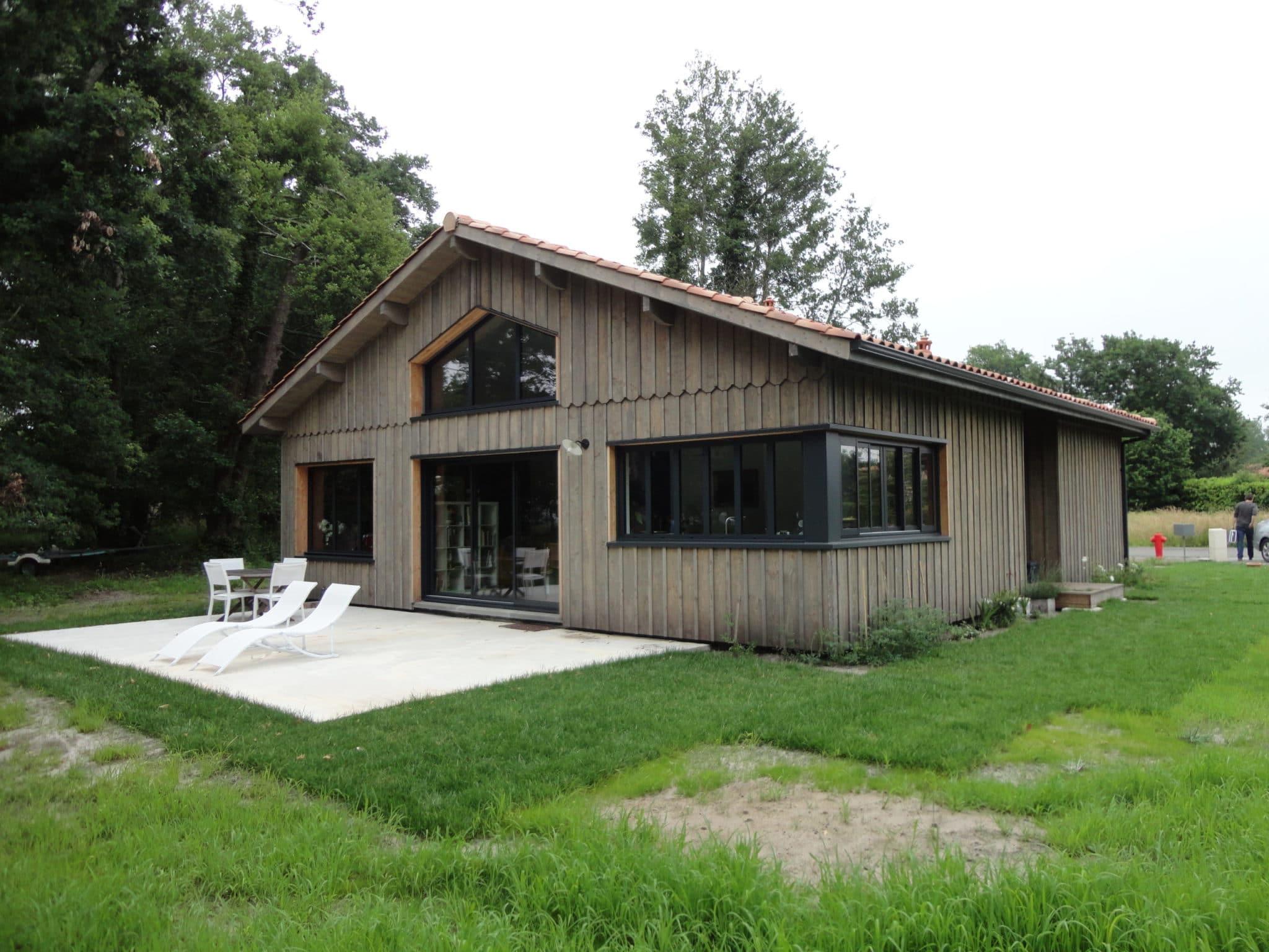 maison style cabane cap ferret